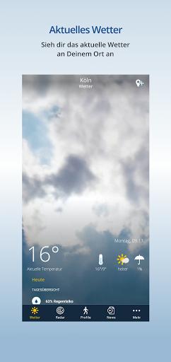 wetter.de – Dein Wetter, immer & überall  screenshots 1