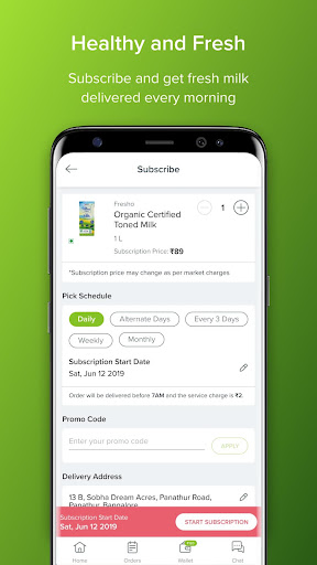 bbdaily: Online Daily Milk & Grocery Home Delivery apktram screenshots 2