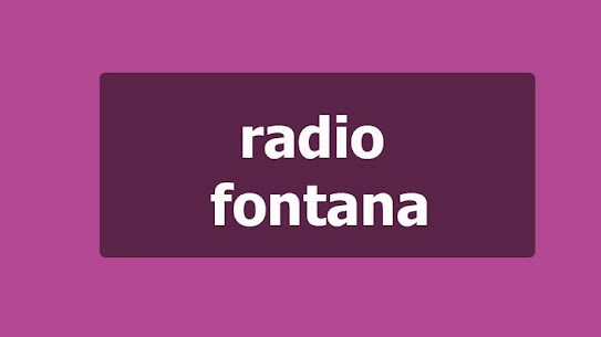 Radio fontana 3.1 APK Mod Updated 1