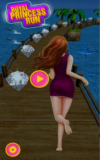 Royal Princess Run - Girl Survival Run APK MOD (Astuce) screenshots 1