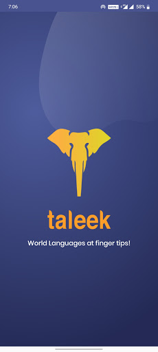 Taleek: Video Language Lessons screen 0