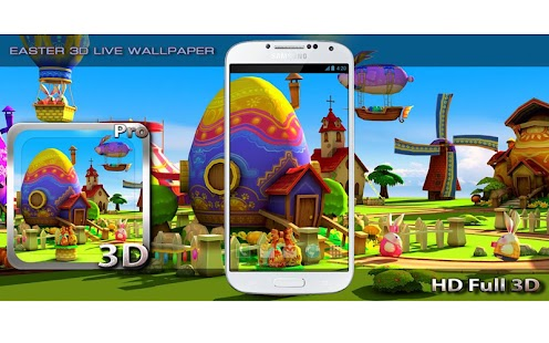 Easter 3D Live Wallpaper Screenshot
