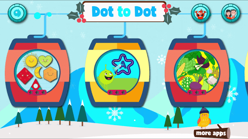 Dot to dot Game - Connect the dots ABC Kids Games screenshots 1