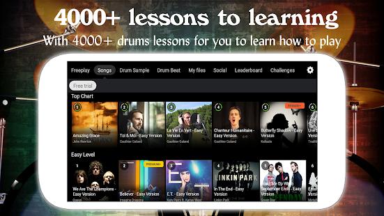 Drum Live: Real drum set drum kit music drum beat 4.4 Screenshots 2