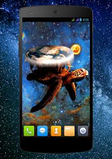 World Turtle Live Wallpaper
