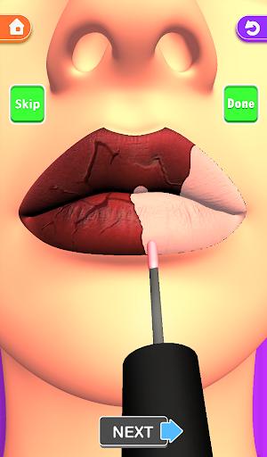 Lips Done! Satisfying 3D Lip Art ASMR Game apkmr screenshots 13