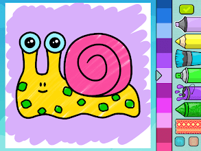 Coloring book for kids screenshot thumbnail