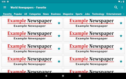 World Newspapers - World News