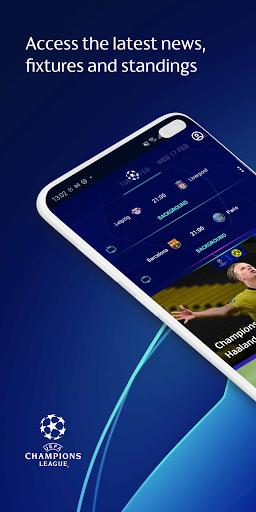 Champions League Official: news & Fantasy Football android2mod screenshots 1