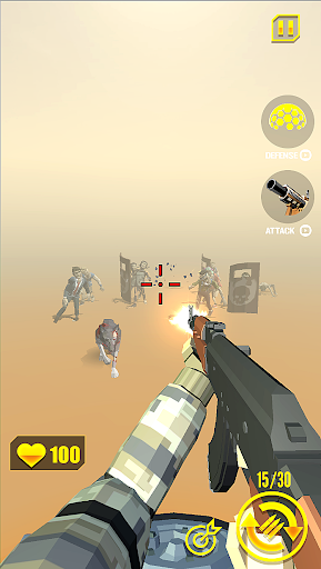 zombie shooter: shooting games APK MOD – ressources Illimitées (Astuce) screenshots hack proof 2