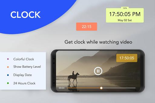 Smart Multi Floating Clock, Timer & Stopwatch  screenshots 1