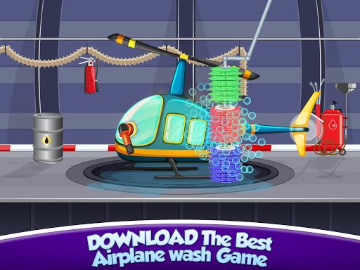 Kids Plane Wash Garage: Kids Plane Games screenshots 9