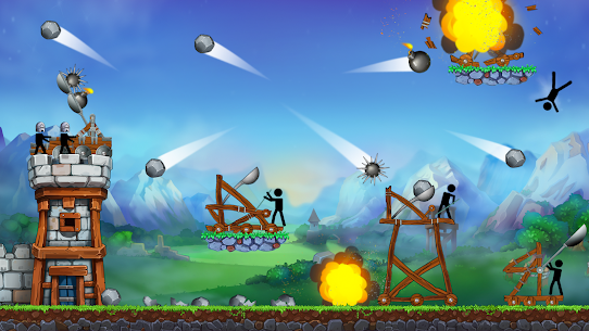 The Catapult — King of Mining Epic Stickman Castle 8
