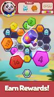 Merge Number Puzzle - 2048 Block Hexa