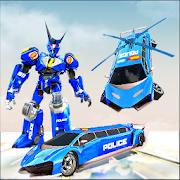 Flying Limo Robot car Transform