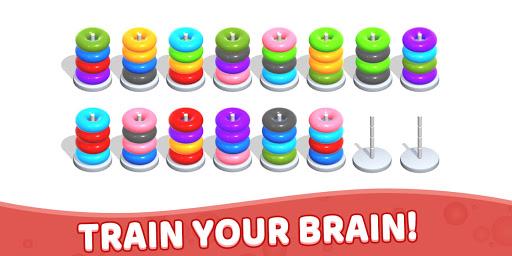 Color Hoop Stack - Sort Puzzle 1.1.2 screenshots 8