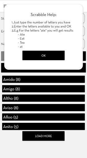 Scrabble Solver 3.4 screenshots 3