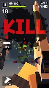 Cube Killer Zombie – FPS Survival Mod Apk 1.2.4 [Mega mod] 2
