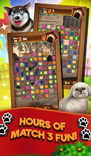 Match 3 Puppy Land - Matching Puzzle Game apktram screenshots 13