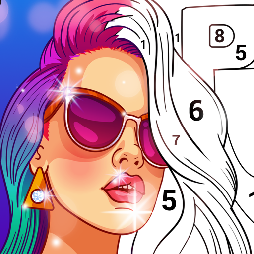 No.Paint - Relaxing Coloring games
