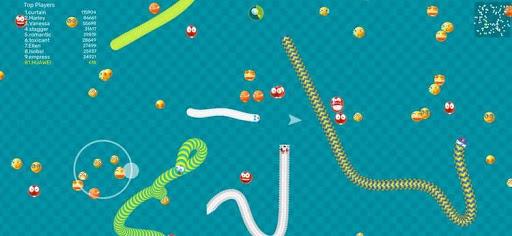 Worms Dash.IO-snake battle zone screenshots 1
