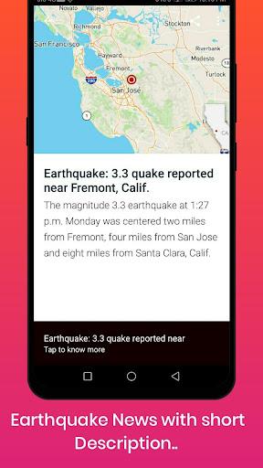 Earthquake Alerts 1.0.4 Screenshots 7