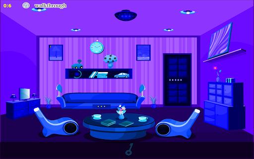 blue room escape games screenshot 1