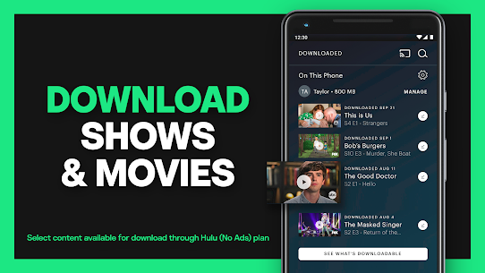 HULU for PC Free Download on Windows and Mac 3