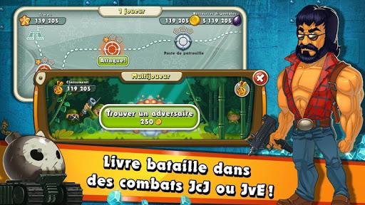 Jungle Heat: War of Clans APK MOD (Astuce) screenshots 3