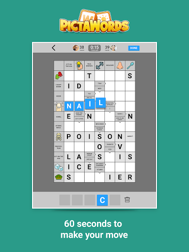 Pictawords - Crossword Puzzle apkslow screenshots 9