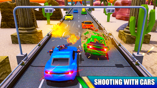 Car Shooting Battle Crash 2019 Hack Cheats (iOS & Android) 2