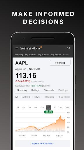 Seeking Alpha: Stock Market News & Analysis  Paidproapk.com 2