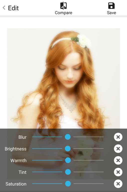 Soft Focus : beautiful selfie  poster 1