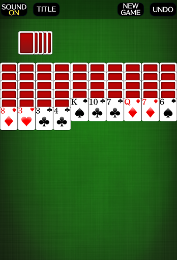 Spider Solitaire [card game] screenshots 2