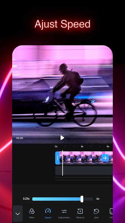 GoCut - Glowing Video Editor  poster 6