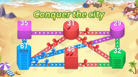 Conquer the City: Tower Defense & Takeover Games 8