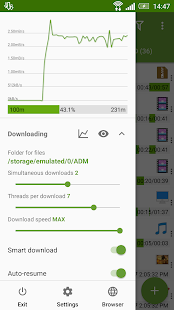 Advanced Download Manager & Torrent downloader Screenshot