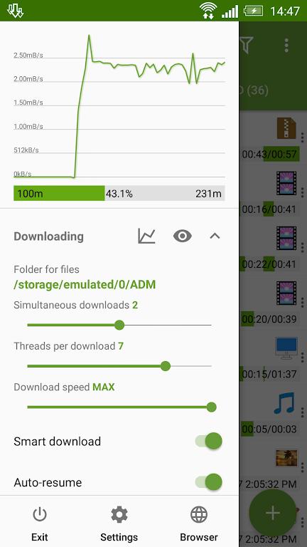 Advanced Download Manager & Torrent downloader  poster 1