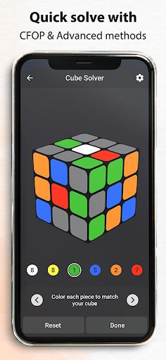 Rubik's Cube : Simulator, Cube Solver and Timer 1.0.4 screenshots 8