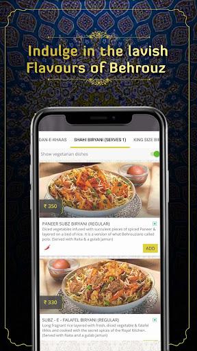 Behrouz Biryani - Order Biryani Online 2.23 Screenshots 6