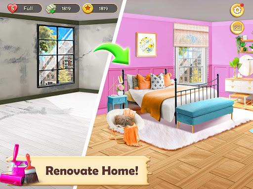 Home Design: Dream House Games for Girls apklade screenshots 1