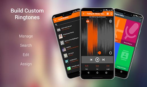 Ringtone Maker and MP3 Editor 1.6.54 Mod + APK (Data) Latest 1
