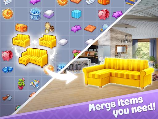 Merge Design: Home Renovation & Mansion Makeover 1.6.2 screenshots 11