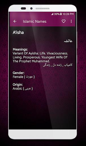 Islamic Names Dictionary  Screenshots 4