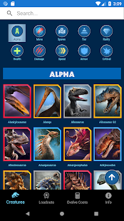 JWA Field Guide for Jurassic World Alive