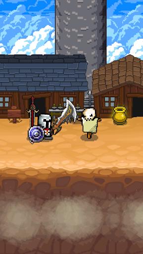 Grow SwordMaster - Idle Action Rpg apkslow screenshots 6