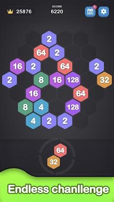ヘキサゴン 2048 - 2048 Number Gamesのおすすめ画像5