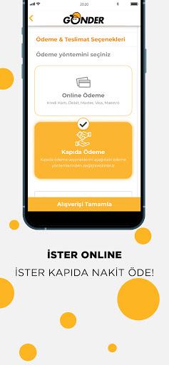 Gu00f6nder: Yeni Nesil Market apktram screenshots 5