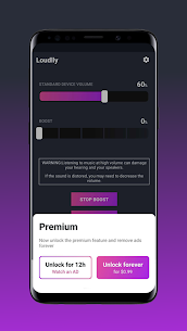 Loudly – Louder Volume Amplifier Mod Apk (PRO Unlocked) 5