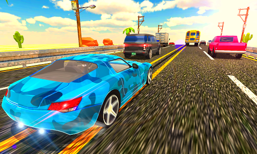Curved Highway Traffic Racer 2019 1.0.16 screenshots 4